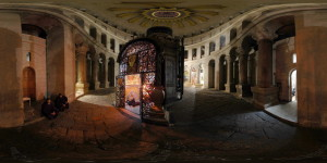 Church of the Holy Sepuchre - Coptic Chapel - Jerusalem, Old City - 360°