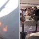 ВИДЕО: Паника во Боинг – при полетување се запалил моторот