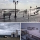 Невреме ја погоди Грција: Силен ветер корнеше дрвја, снег на планините