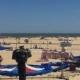 Трагедија на плажа: Експлодира дворец на дување, загина 6-годишно девојче (ВИДЕО)