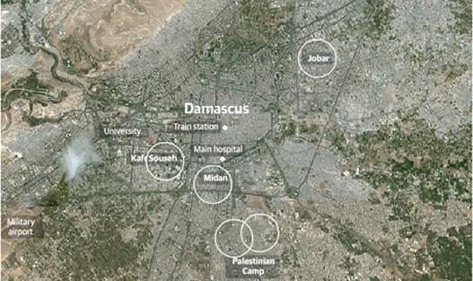 Damask-mapa