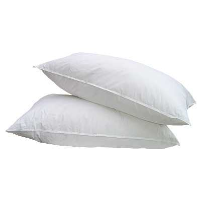 Luxury duck feather pillow2