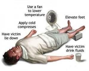 povrede sportista kod toplotnog udara
