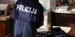 Makarska, 20.01.2012 - Starica Zorka Miosic vezana i opljackana tijekom provale u Bristu