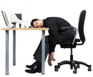 sleeping work