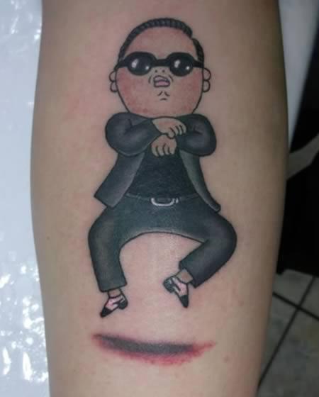 gangnam tetovaza