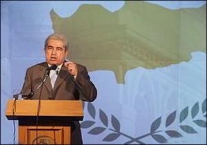 Cypriot President Demetris Christofias d