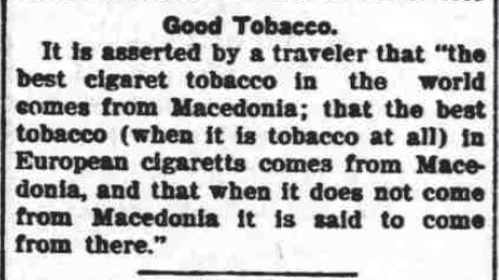Good Tobacco