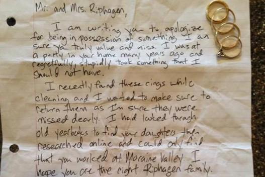 Pismo i prstenje