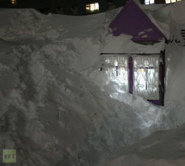 rusija sneg