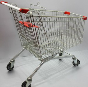 European_style_180L_supermarket_trolley