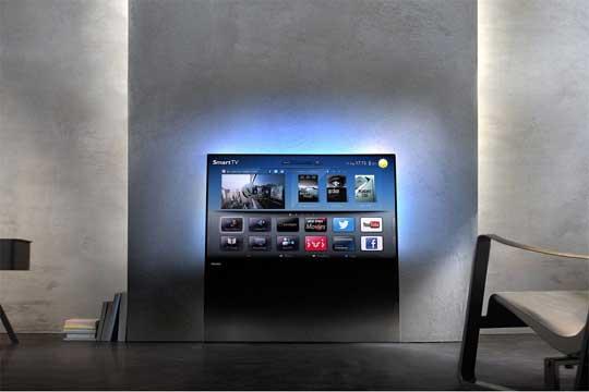 televizor od staklo