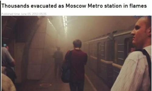 pozar metro