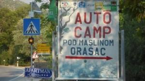 DUbrovnik kamp