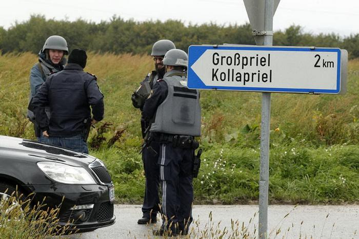 AUSTRIA-CRIME-MURDER-HOSTAGE-POLICE