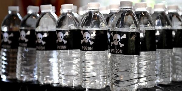 plasticni sisinja voda otrovni