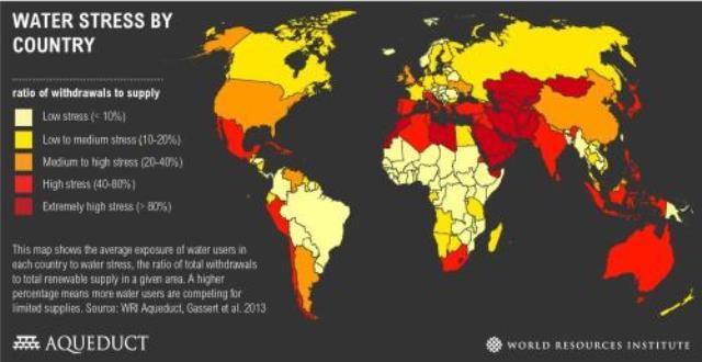 mapa voda resursi