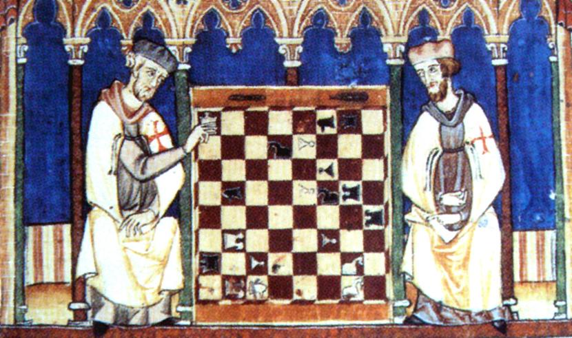 Vitezovi-templari-igraju-sah-na-ilustraciji-iz-1283.-godine