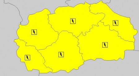 makedonija karta nevreme