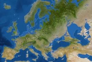 mapa zemji poplaveni
