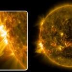 """НАСА: """"Сончева бура"""" денеска ќе ја погоди Земјата"""