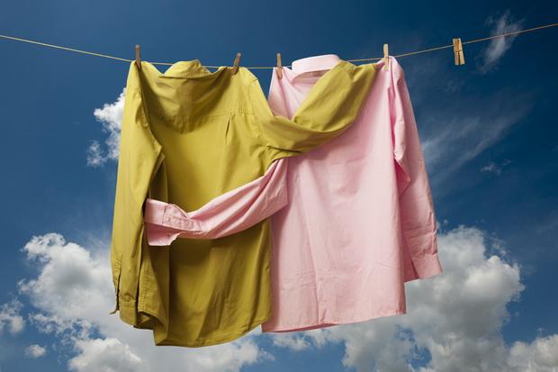 susenje obleka perenje