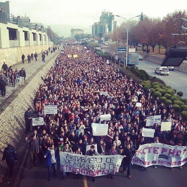 studentski protesti