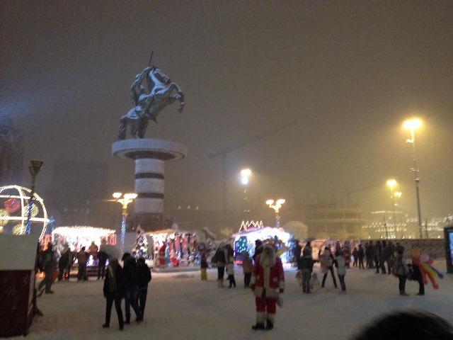 plostad ace sneg nova godina