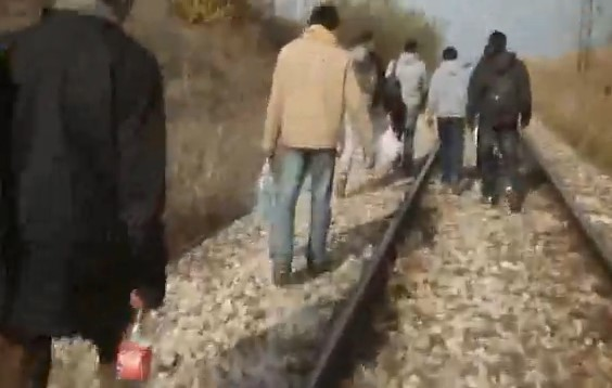 migranti pruga