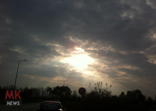 oblaci sonce vreme mk