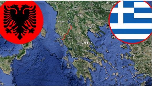 grcija albanija