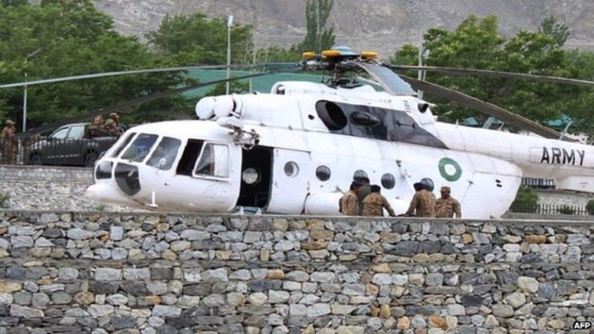 helikopter pakistan