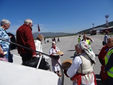 turisti aerodrom ohrid