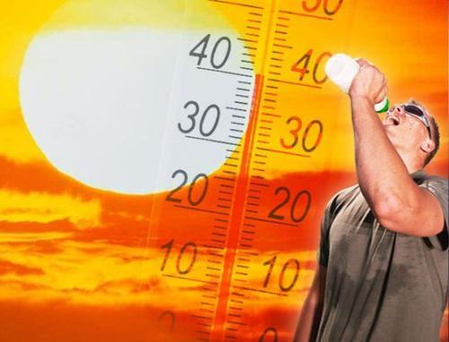 toplo termometar zesko sonce