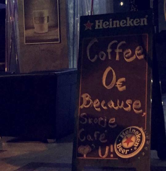 Besplatno kafe
