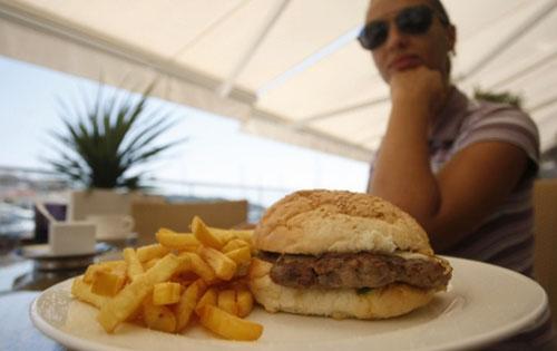 hamburger restoran