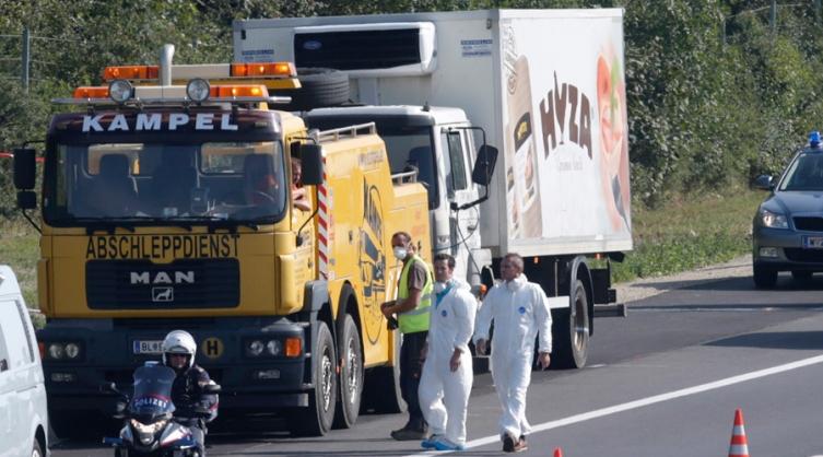 kamion migranti
