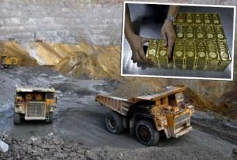 zlato rudnik