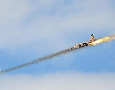 isis avion napad