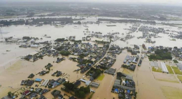 japonija poplavi