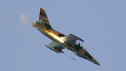 sirija avion rusija