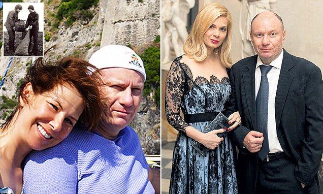 Vladimir Potanin and his second wife, Katya - 1 - must credit Spletnik, queries Will Stewart 007 985 998 94 00.jpg