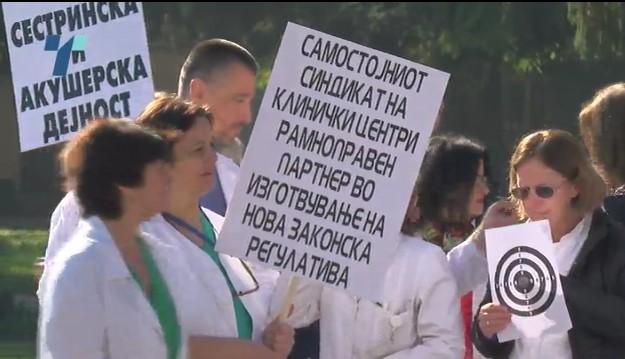 LEKARI PROTEST