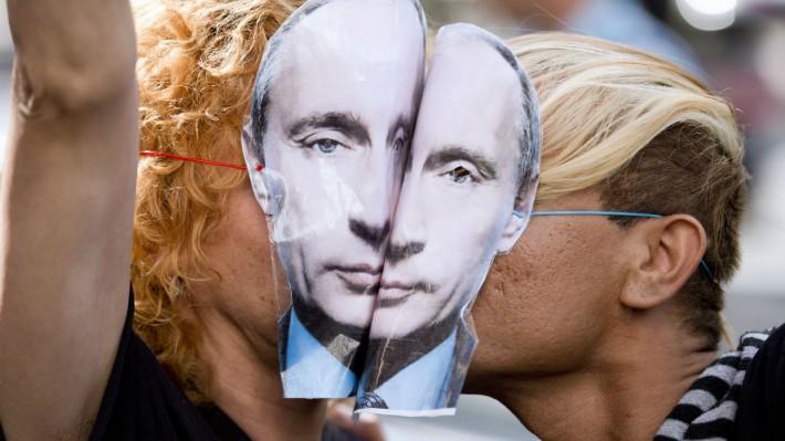 RUSIJA-putin gej