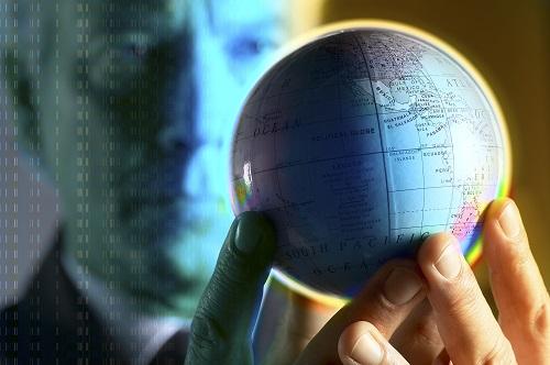 kriza-svet planeta globus