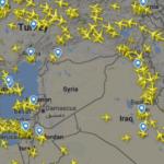Состојбата е критична: Ниту еден патнички авион на небото над Сирија (фото)