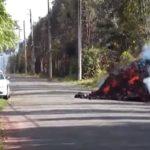 Лава голта автомобили на Хаваи – хорор сцени по ерупцијата