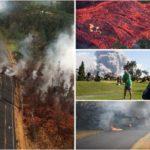 Ужас на Хавите, нови ерупции, лавата голта се пред себе, населението или се слика или се евакуира