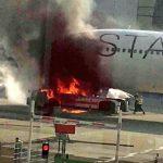 Драма на аеродромот во Франкфурт – 10 повредени (Фото)