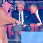 Путин и принцот на Саудиска Арабија заедно на трибините – Путин доби честитки од принцот